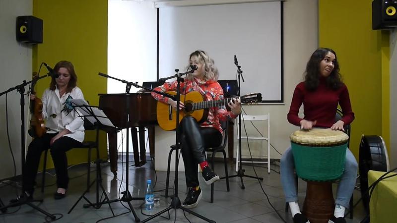 Панк-кабаре -Малина- Все в порядке (в Доме искусств 19.07.2017)