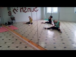 Exotic pole dance) Группа новички) Порадовали сегодня)