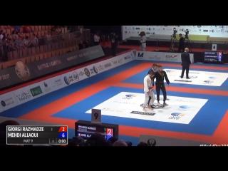 Giorgi Razmadze vs Mehdi Allaoui #WorldPro17 #bjf_нашилюди