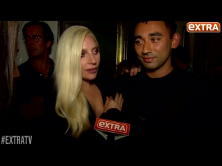 Exclusive! Lady Gaga Helps Stylist BFF Brandon Maxwell Get Ready for His NYFW Show