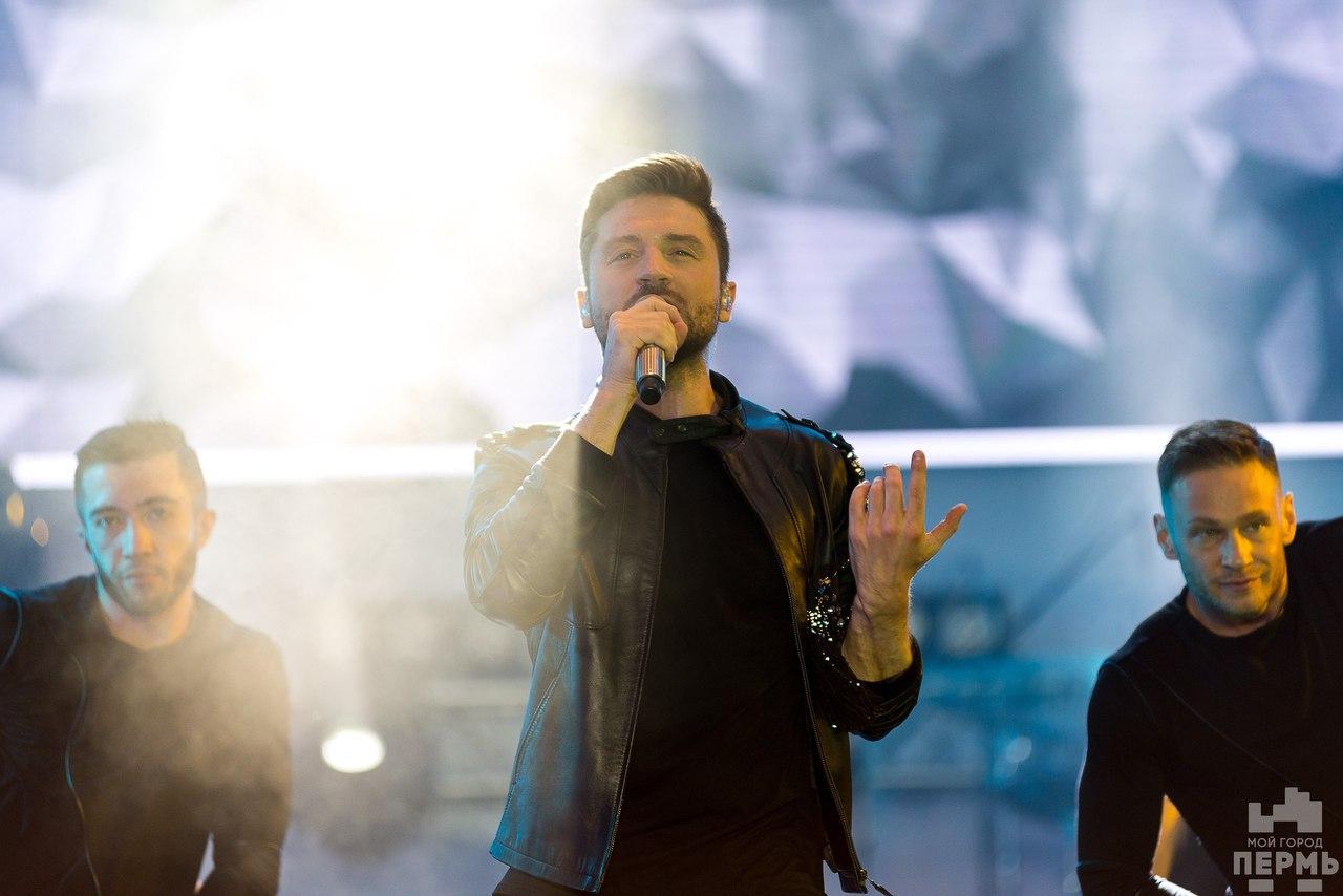 Пермяки поделились фото с концерта Сергея Лазарева