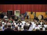 Отрывок из репетиции симфонии Малера