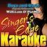 Singer's Edge Karaoke - Boys and Girls (Originally Performed by Will.I.Am & Pia Mia) [Karaoke]