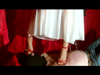 My new Special High Heels in action Trampling