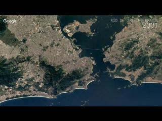 Google Timelapse - Rio de Janeiro, Brazil