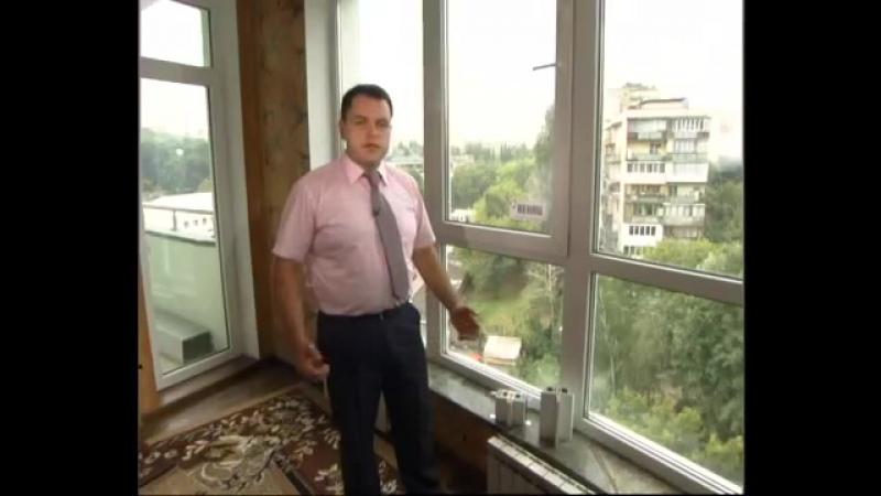 REHAU Выбор окон для верхних этажей