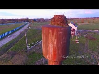 Заброшенное гнездо аиста