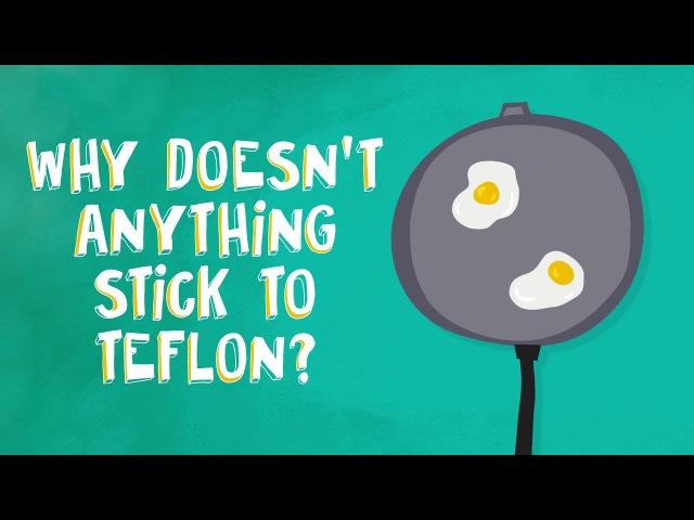 Why doesn't anything stick to Teflon? - Ashwini Bharathula