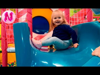 New Way Игровая Комната Дитяча Планета Indoor Playground with Balls Trampoline Fun for Kids