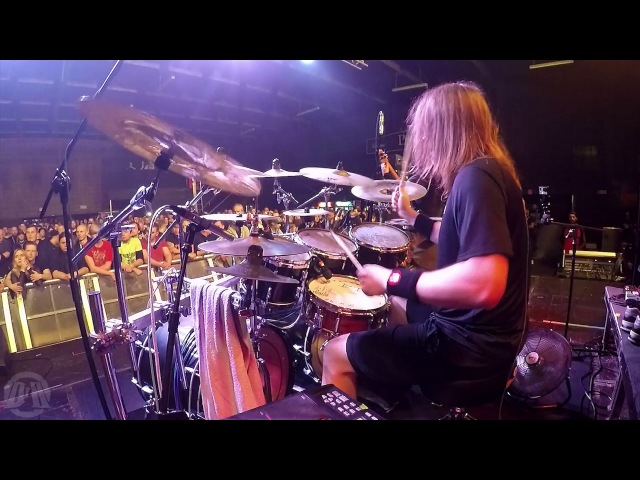 DYING FETUS@In the Trenches-Trey Williams-Live in Poland 2017 (Drum Cam)