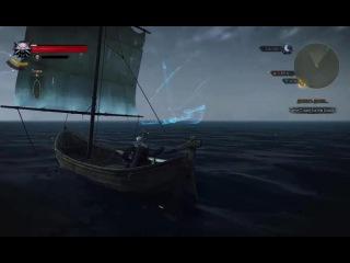 Ведьмак 3. Летучий Голландец. Респаун корабля-призрака
