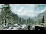 Skyrim - Сравнение графики PS3 Original vs. PS4 Special Edition Remaster (Candyland)