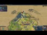 15 минут геймплея Civilization 6 по постройке мира