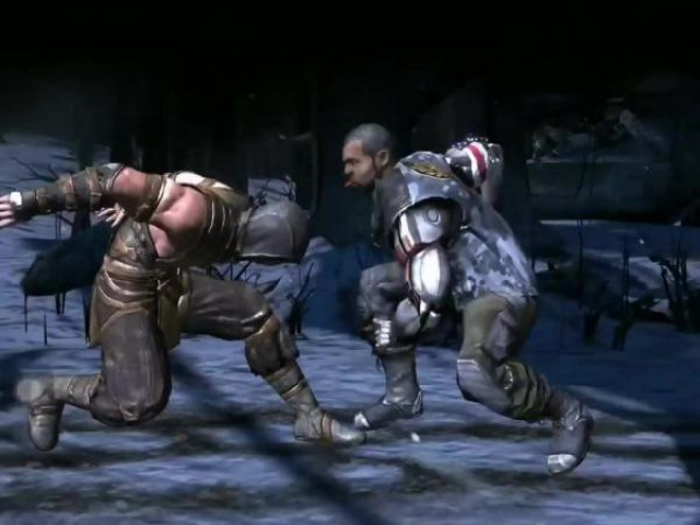 Mortal Kombat X mobile Scorpion делает все XRay других персонажей