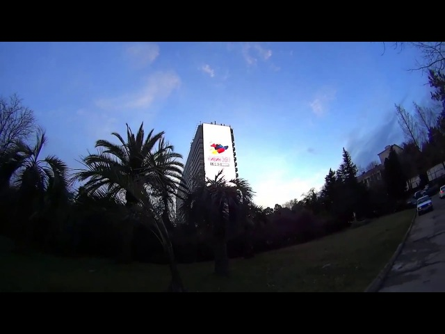 3 метра Сочи КиВиН 2017 часть два (мало не интересно)