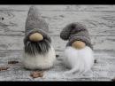Socken Wichtel ganz leicht basteln How to make a Sock Gnome
