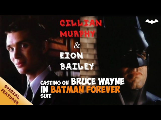 Screentest Cillian Murphy Eion Bailey on Batman   Batman: Begins