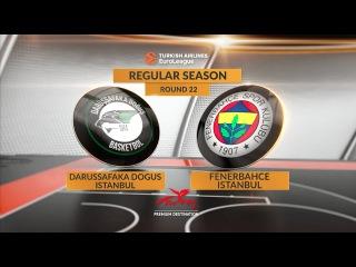 Highlights: Darussafaka Dogus Istanbul-Fenerbahce Istanbul. Евролига. Обзор. Дарюшшафака - Фенербахче