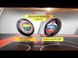 Highlights: Fenerbahce Istanbul-CSKA Moscow. Евролига. Обзор. Фенербахче - ЦСКА