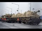 Watch Scores of US Tanks Roll Into Germany on Way to Russian Border