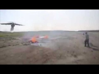 Как тушат пожар с самолета