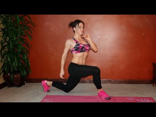 12 Minute HIIT Chest, Core Lower Body Burn
