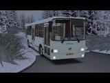 OMSI 2. Map Omninsk, Route 112, LiAZ 5293.00