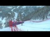 Итальянская горнолыжница Надя Фанкини вылетела с трассы на скорости 100 кмчас