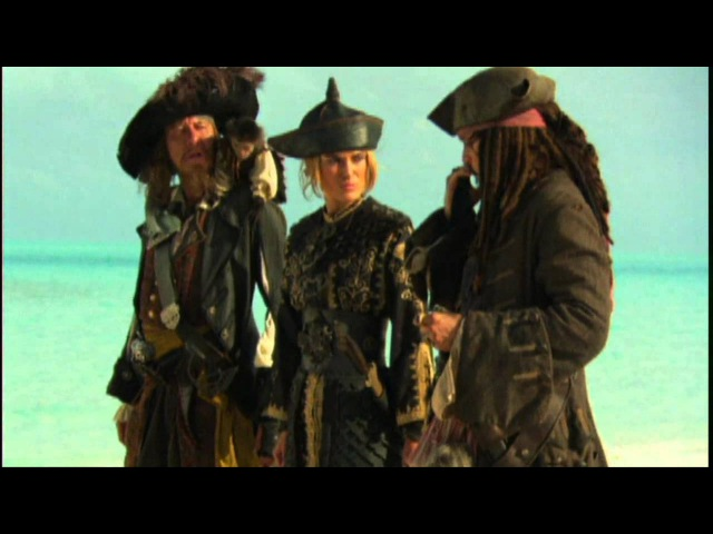 Pirates of the Caribbean At World's End Behind the Scenes Production Broll Part 3 of 4