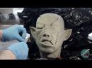 Силиконовая голова из герметика НЕ МАСКА Часть1 Скульптура из пластилина