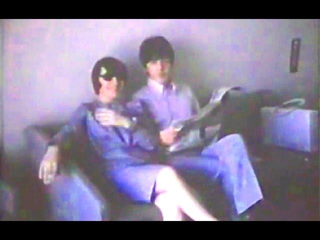 ♫ The Beatles rest in Parco dei Principi Hotel, Rome 1965 - Unique and rare video