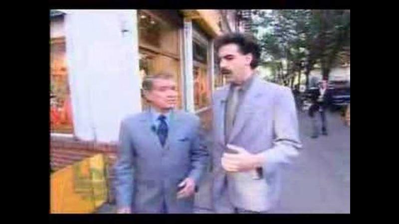 Borat meets regis
