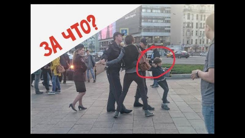 Полицейские задержали 10 летнего мальчика декламировавшего Гамлета