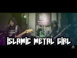 INDONESIAN HIJAB MUSLIM METAL GIRL (VOB - THE ENEMY OF EARTH IS YOU) | LIVE STUDIO SESSION