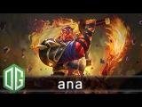 OG.Ana Ember Spirit Gameplay - Unranked Match - OG Dota 2