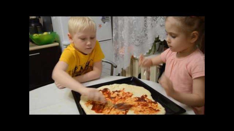 Пицца Артемия - детки кофетки