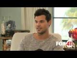 Taylor Lautner talks Scream Queens, new movie