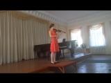Гайдн Концерт для скрипки с оркестром G-dur 1 часть
