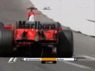 F1 2004. Гран-при Монако. Гонка