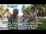 Real-English-SUBTITLED-The South Beach Clips-4-Describe-self-in-one-sentence