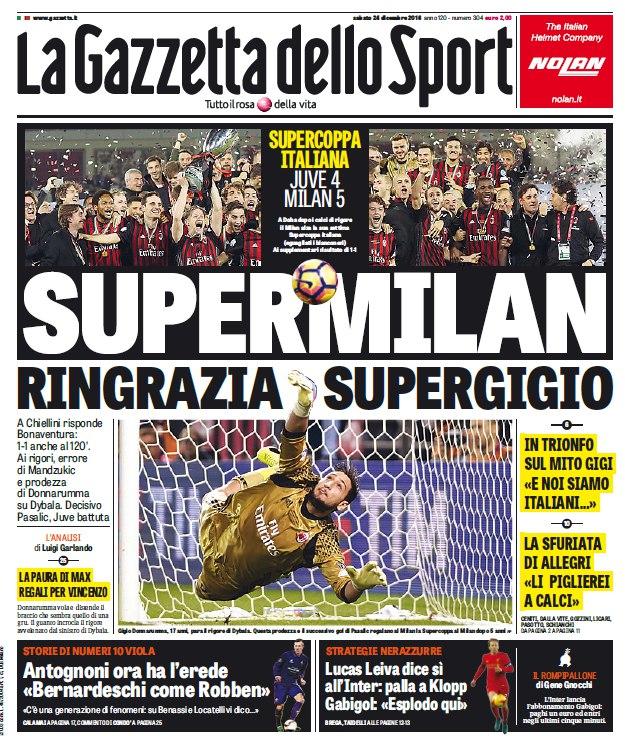 ფეხბურთელების შეფასება La Gazzetta dello Sport -ის მიერ