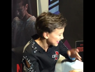 Millie Bobby Brown | INSTAGRAM VIDEO | Manila COMIC-CON