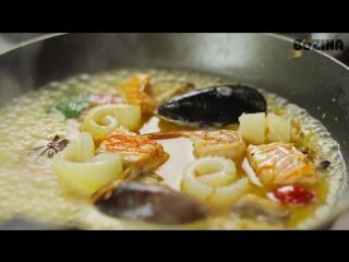 Французский рыбный суп Буйабес