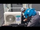 Монтаж кондиционера Hisense ECO Classic A до 50м2 на заранее заложенную фреонотрассу в ЖК Велит г Тольятти