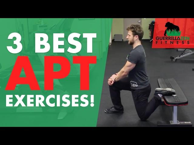 3 of the BEST Anterior Pelvic Tilt Stretches!
