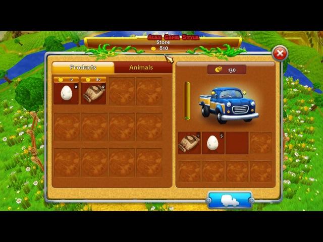 Веселая ферма 4 Робот Уровень 6 Золото Farm Frenzy 4 Robot Level 6 only GOLD Walkthrough Gameplay