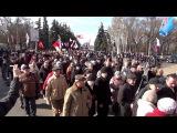 16 марта 2014. Одесса. Начало марша в поддержку референдума в Крыму