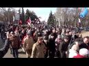 16 марта 2014 Одесса Начало марша в поддержку референдума в Крыму