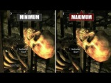 TES 5: Skyrim - Special Edition Сравнение графики - PC Min vs. Max (PC Games)