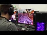 8 минут оффскрин геймплея Overwatch с Сомброй